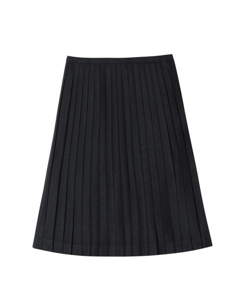 プリーツ ミドル スカート