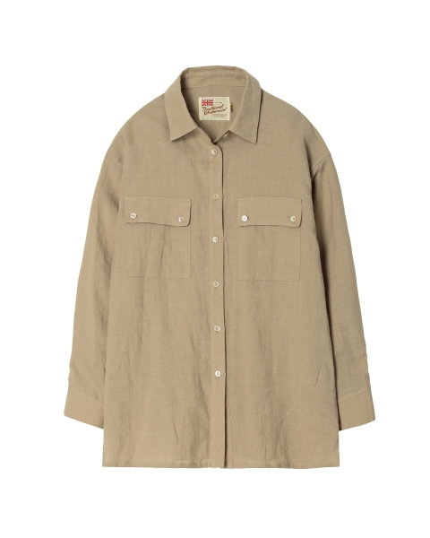 ワーク レギュラーカラー シャツ