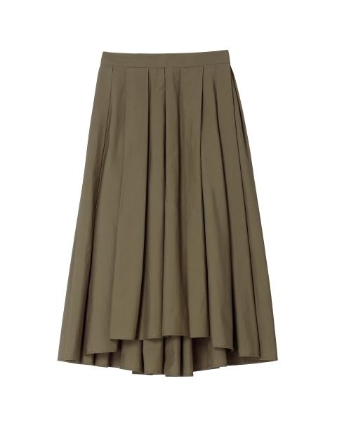 アンイーブン タック スカート