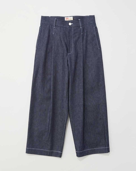 【MENS】MILITARY PANTS WITH BACK BELT