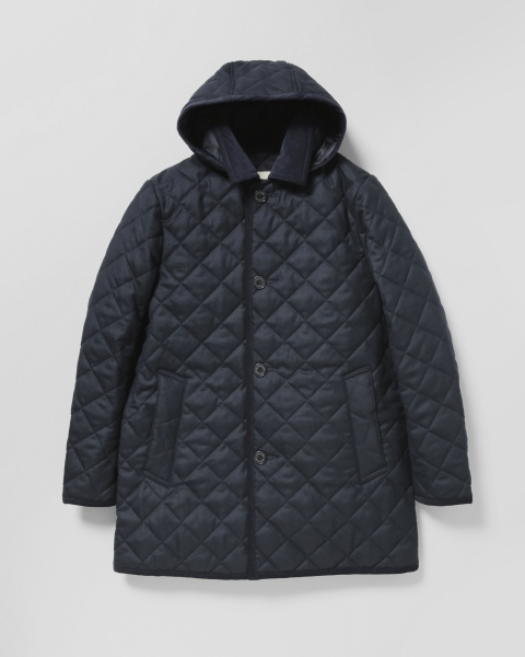 【MEN'S】DERBY HOOD QUILTED ダービーフード キルテッド