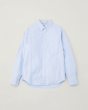 【MEN'S】B.D. SHIRTS WITH PATCH 詳細画像 サックス 1