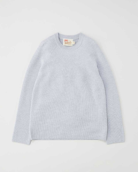 RIB STITCH CREWNECK KNIT