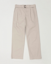 【MEN'S】WORK PANTS WIDE WITH BELT 詳細画像 グレージュ 1