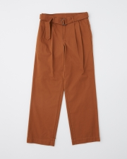 【MEN'S】WORK PANTS WIDE WITH BELT 詳細画像 ウォルナット 1