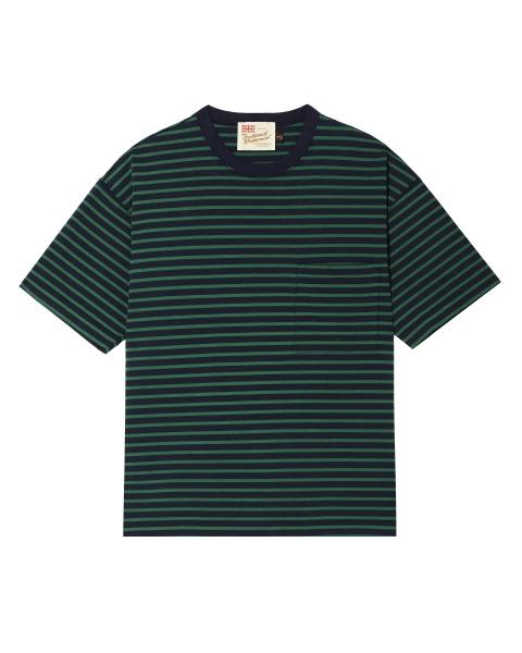 【MEN'S】<br>クルーネック ドロップショルダー Tシャツ