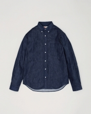 【MEN'S】B.D. SHIRTS WITH PATCH 詳細画像 インディゴ 1