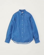【MEN'S】B.D. SHIRTS WITH PATCH 詳細画像 ライトインディゴ 1