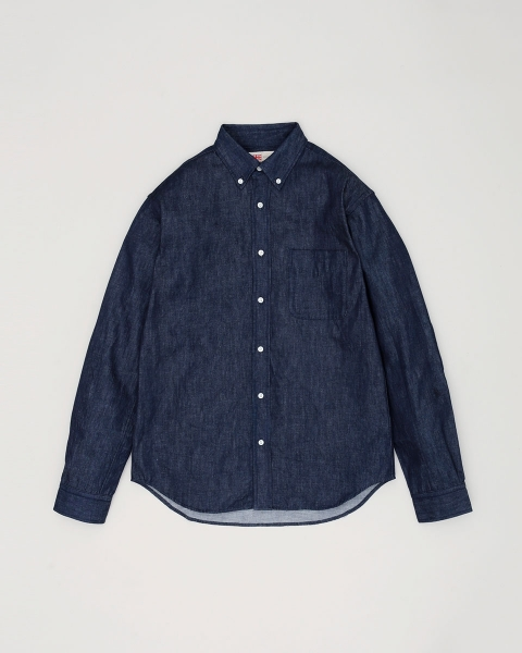 【MENS】B.D. SHIRTS WITH PATCH