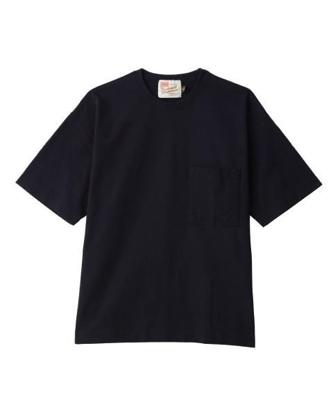 【MEN'S】クルーネック ドロップショルダー Tシャツ