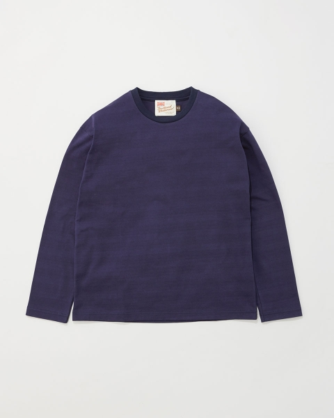 【MEN'S】LONG SLEEVE COTTON CREWNECK T-SHIRTS