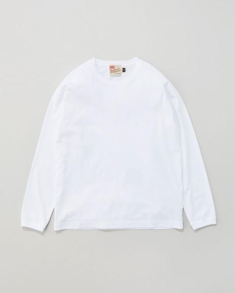 【MENS】ロングスリーブ コットンリブTシャツ