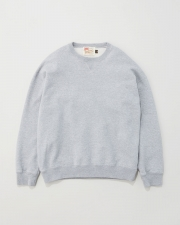 【MEN'S】QUILTED PACTH CREWNECK PULL OVER 詳細画像 グレー 1
