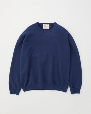 【MEN'S】QUILTED PACTH CREWNECK PULL OVER 詳細画像 ネイビー 1