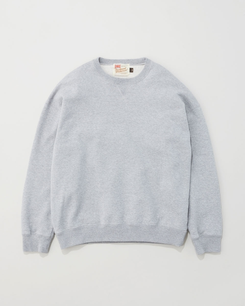 【MEN'S】QUILTED PACTH CREWNECK PULL OVER