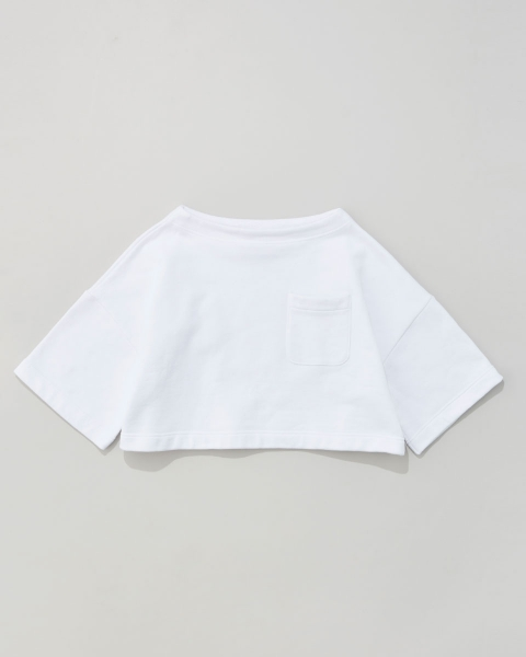 WIDE SLEEVE TOP WITH POCKET ワイドスリーブトップ ウィズ ポケット