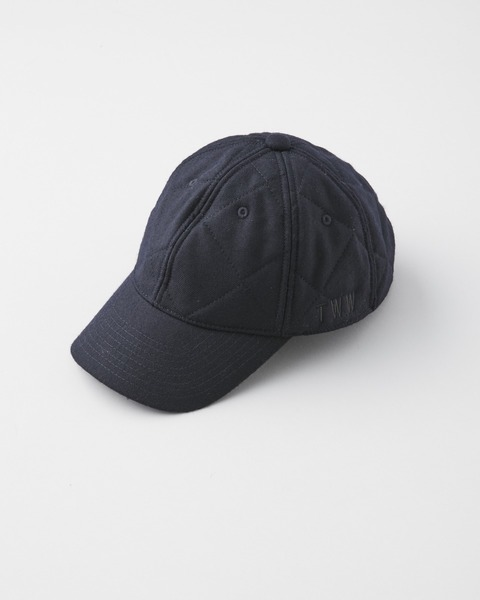 QUILTED ADJUST CAP