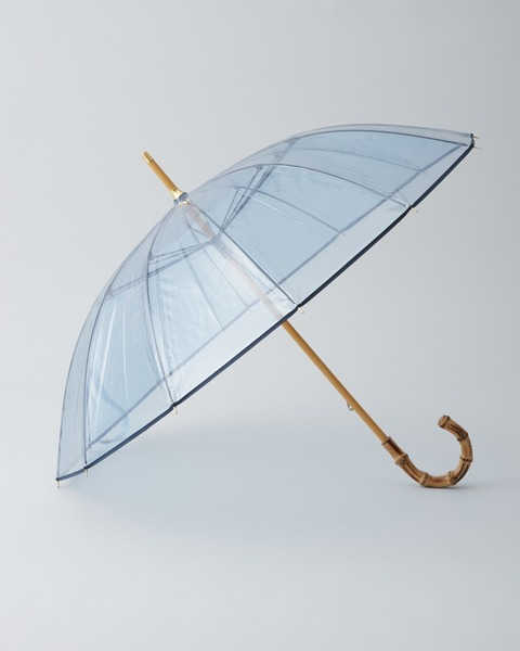 CLEAR UMBRELLA BAMBOO