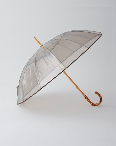 VINYL UMBRELLA BAMBOO