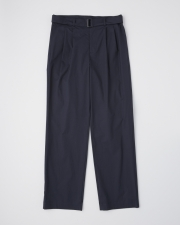 【MEN'S】WORK PANTS WIDE WITH BELT      詳細画像 ネイビー 1
