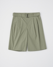 【MEN'S】WORK SHORTS  WITH BELT      詳細画像 カーキ 1