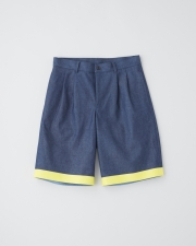 【STORMSEAL】【MEN'S】WORK SHORTS  WITH TAPE 詳細画像 ブルー×ライトブルー 1