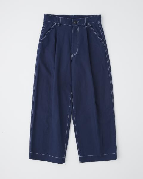 【MEN'S】BACK BELT PANTS WITH POCKET