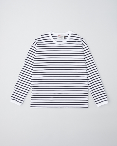 【MEN'S】LONG SLEEVE CREW NECK RIB T-SHIRTS