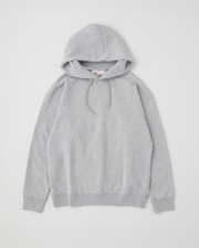 【MEN'S】QUILTED PATCH  CREW NECK PULL OVER PARKA 詳細画像 グレー 1