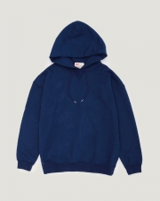 【MEN'S】QUILTED PATCH  CREW NECK PULL OVER PARKA 詳細画像 ネイビー 1
