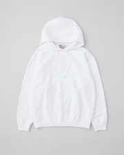 【MEN'S】QUILTED PATCH  CREW NECK PULL OVER PARKA 詳細画像 ホワイト 1