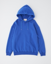 【MEN'S】QUILTED PATCH  CREW NECK PULL OVER PARKA 詳細画像 ブルー 1