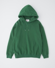 【MEN'S】QUILTED PATCH  CREW NECK PULL OVER PARKA 詳細画像 グリーン 1