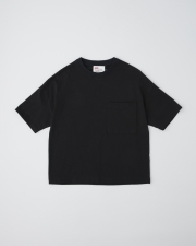 【MEN'S】BIG T-SHIRTS WITH POCKET       詳細画像 ブラック 1