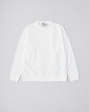 【MEN'S】CREW NECK BASIC PULL OVER 詳細画像 オフホワイト 1