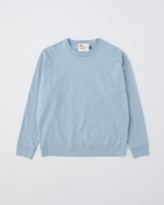 【MEN'S】CREW NECK BASIC PULL OVER 詳細画像 スカイブルー 1
