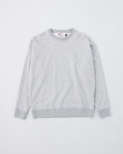 【MEN'S】CREW NECK BASIC PULL OVER 詳細画像 トップグレー 1