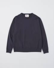 【MEN'S】CREW NECK BASIC PULL OVER 詳細画像 ネイビー 1