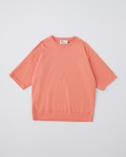 【MEN'S】CREW NECK HALF SLEEVE PULL OVER 詳細画像 オレンジ 1