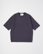 【MEN'S】CREW NECK HALF SLEEVE PULL OVER 詳細画像 ネイビー 1