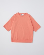 CREW NECK HALF SLEEVE PULL OVER 詳細画像 オレンジ 1