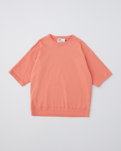 【MEN'S】CREW NECK HALF SLEEVE PULL OVER