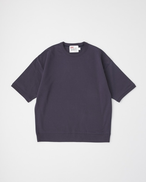 CREW NECK HALF SLEEVE PULL OVER