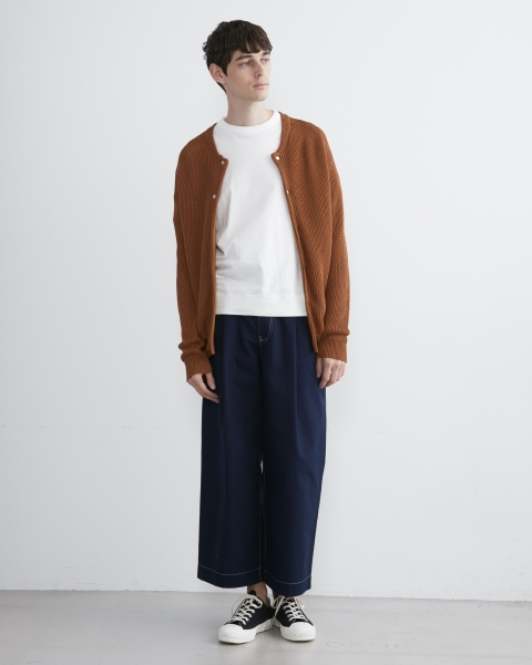 【MEN'S】RIB KNIT CARDIGAN