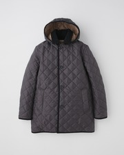 DERBY HOOD QUILTED 詳細画像 アスファルト×ヘーゼル 11