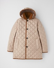 DERBY HOOD QUILTED 詳細画像 ヘーゼル×ヘーゼル 11