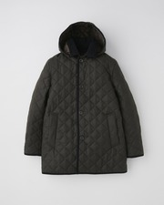 DERBY HOOD QUILTED 詳細画像 カーキ×ミリタリーカーキ 11