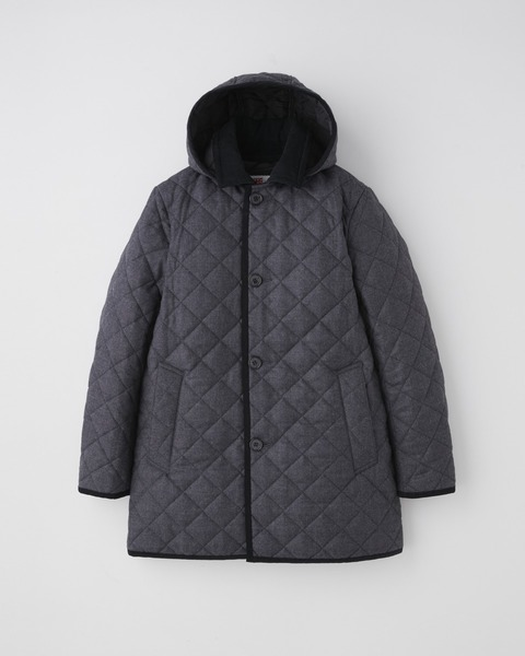 DERBY HOOD QUILTED
