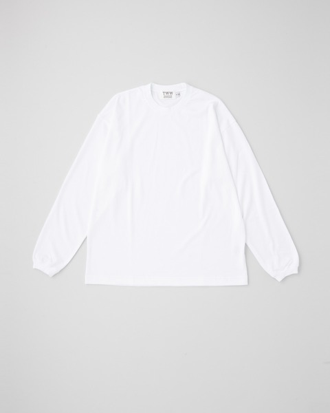 LONG SLEEVE COTTON RIB T-SHIRTS