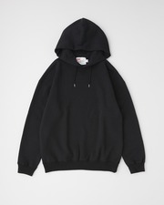 【MEN'S】QUILTED PATCH CREW NECK PULL OVER PARKA 詳細画像 ブラック 1